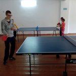 партия в теннис