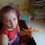 оригами птичка. jpg